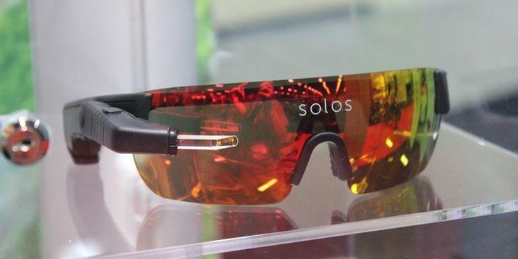 Умные очки Solos помещают данные о производительности в поле зрения велосипедистов