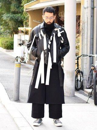 Wallace & Murron Wallace & Murronさんの「【my beautiful landlet】   cashmere wool high neck pullover(my beautiful landlet マイ ビューティフル ランドレット)」を使ったコーディネート
