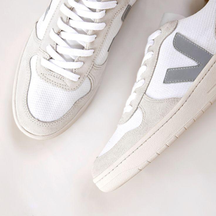 V-10 BMESH WHITE NATURAL OXFORD GREY #veja #vejashoes #streetstyle #kicksoftheday #oxfordgrey