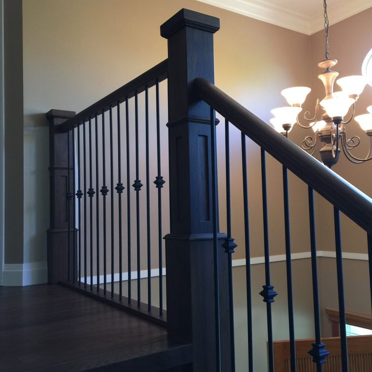 Wide Plank Hardwood   Hickory Stairs and Rails