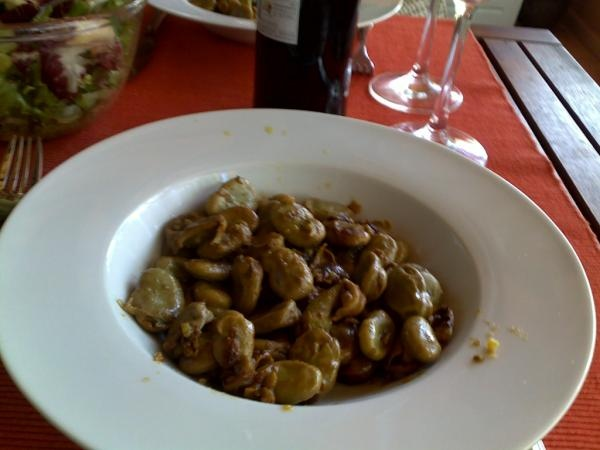 Favas with Chorizo by @celiapedroso Truly a Portuguese Favorite #SundaySupper