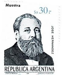 Argentina Stamp - JOSE HERNANDEZ
