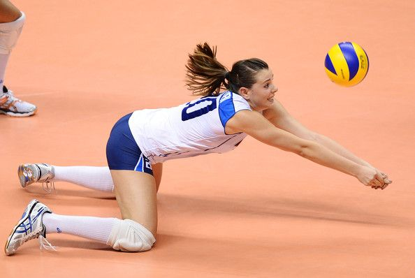 ALESSIA GENNARI, ITALIAN VOLLEYBALL PLAYER