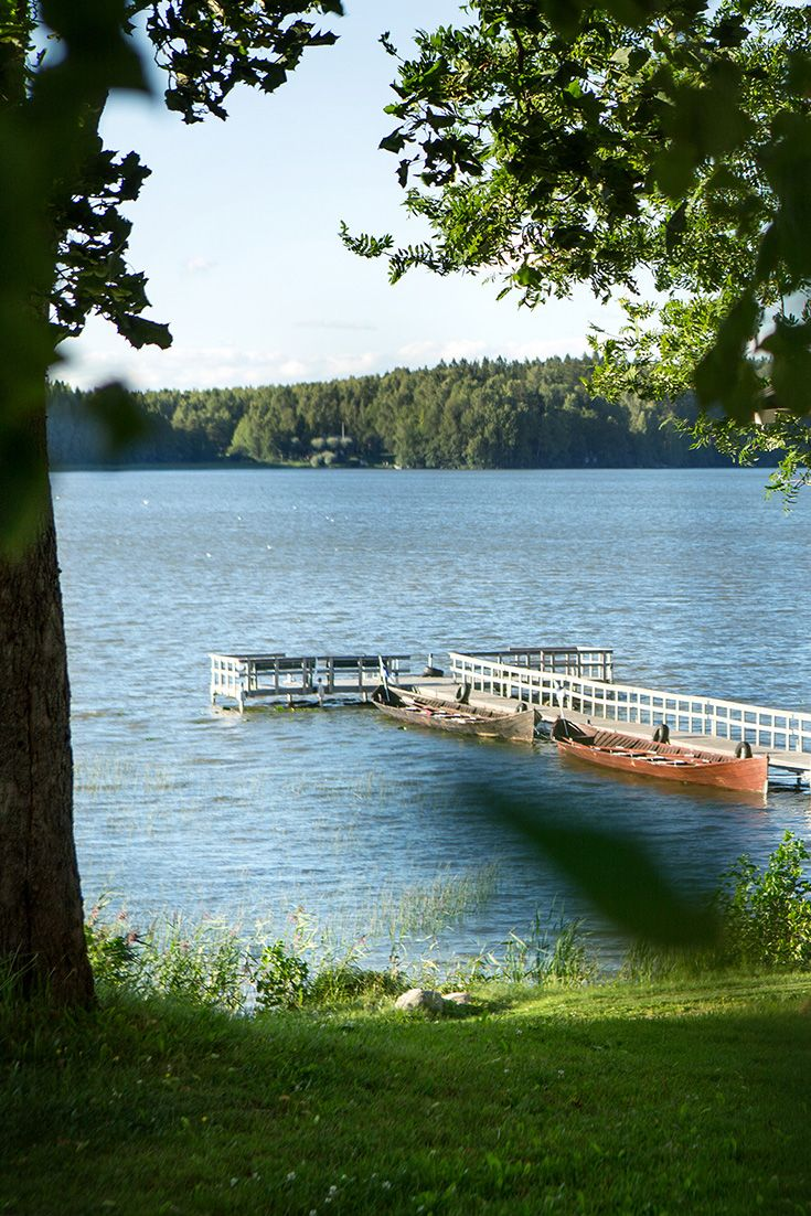 We are located at beautiful Tuusula Lake. Only half an hour from Helsinki. #hotel #lake #helsinki