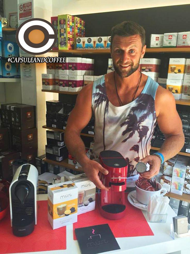 #capsuleandcoffee Vieni a provare la nuova Macchina da caffè Gustissima di Must Espresso Italiano [In offerta lancio a 89,00 euro con 2 scatole di caffè in omaggio anziché 139,99] Capsule & Coffee Shop Fano Gli specialisti del caffè Viale Veneto 87 tel 0721-823785 #novità #capsuleandcoffee #glispecialistidelcaffè #gustissima #macchina #caffè #espresso #capsule #cialde #Fano #Pesaro