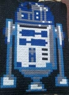 R2D2 Star Wars quilt Pattern pattern on Craftsy.com  $8