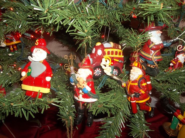 17 Best Images About Fireman Santa On Pinterest