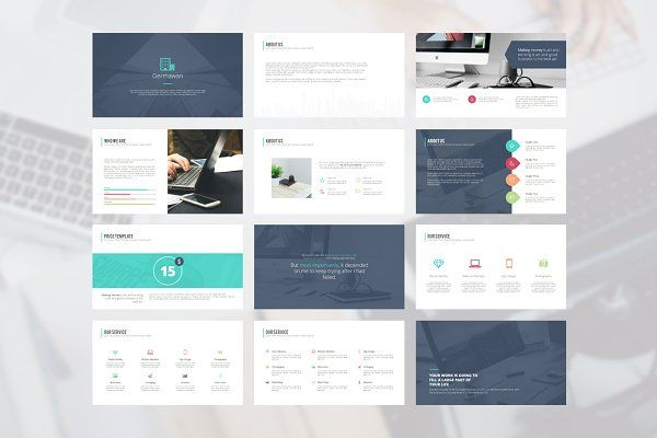 TOP 10 Most Sold PowerPoint Bundle by Angkalimabelas on @creativemarket