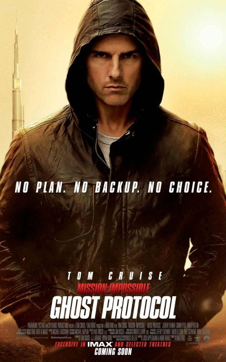 Mission: Impossible Ghost Protocol (2011) starring Tom Cruise