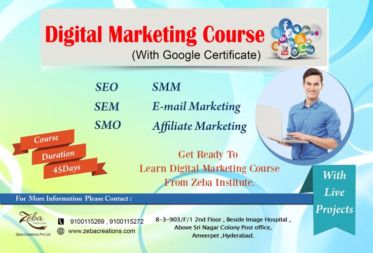 Are you Planning to Learn Digital Marketing‬ Course, with Google Certification, ‪Zeba‬ Institute ‪Providing Independence‬ Day ‪Special‬ Offer, 20%OFF on All ‪Courses‬, Hurry up!!...:) 100% job Assistance with Live Projects,and internship certificate Also Provides by Company for Eligible Students. http://www.zebacreations.com/register.html