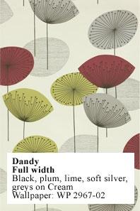 fabric: Paper, Mid Century, Fabrics, Dandy