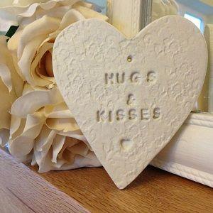 Hugs and Kisses Heart