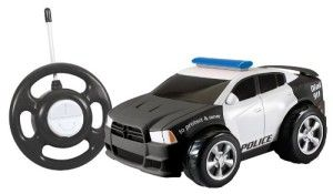 My 1st RC Dodge Charger Use the easy two button steering wheel style remote to drive forward and spin in circles. Classic Charger styling for preschoolers.  Car is a good size but not heavy. Made for toddlers by toddlers, just kidding, but this car is really toddler friendly. http://awsomegadgetsandtoysforgirlsandboys.com/kid-galaxy/ Kid Galaxy: My 1st RC Dodge Charger