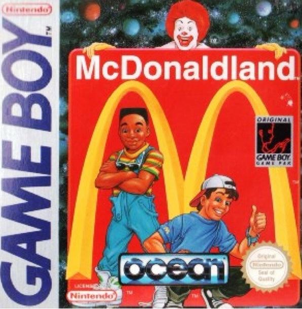 McDonald Game Boy