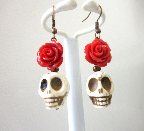 Best 20 halloween jewelry ideas on pinterest halloween for Day of the dead body jewelry