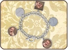 I would love this with all my kids on it. Pin it to Win it! #jewelryforphotographersCharm Bracelets, Photos Bracelets, Bracelets Pin, Kotori Jewelry, Sterling Silver, Charms Bracelets, Better Charms, Silver Photos, Photos Charms
