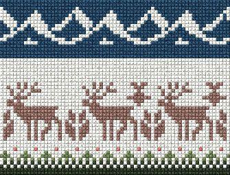 Схемы бордюров  и орнаментов для вышивки (ткачество)  | biser.info - всё о бисере и бисерном творчестве