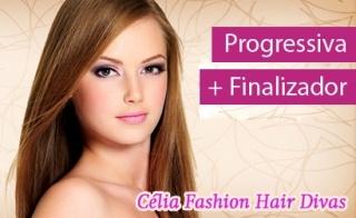 Escova Progressiva G Hair (Inoar) + Finalizador de Argan...