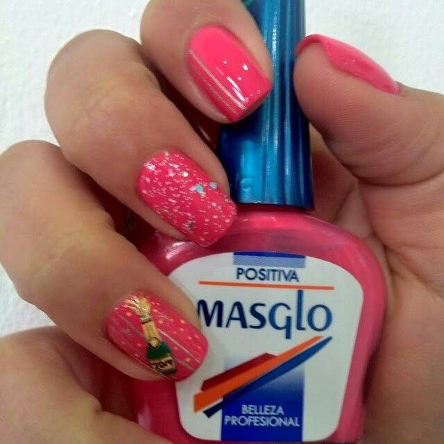 Salud. Art nails. Super hot. By Masglo