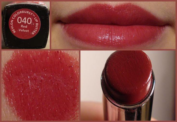 revlon lip butter red velvet on fair skin