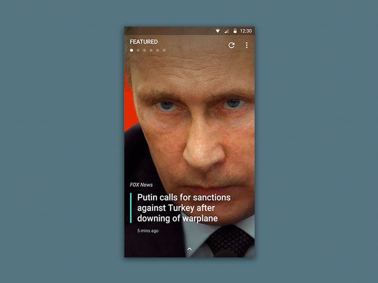 This is a real project about a News app experience. Made this prototype with Pixate.
