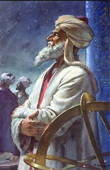 Abu Rayhan Biruni 973 – 1048 AD. Abu Rayhan Biruni was a Persian mathematician, theologian, philosopher, astronomer, geographer and historian who was born near the Aral Sea in Khwarazm. He was fluent in Persian, Arabic, Greek, Hebrew Khwarezmian and Syriac and had knowledge of Hindi and Latin. While he wrote 146 books largely on astronomy, astrology, geography and mathematics, only 22 of these works have survived.