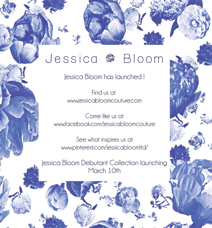 Come and check out Jessica Bloom's new website!