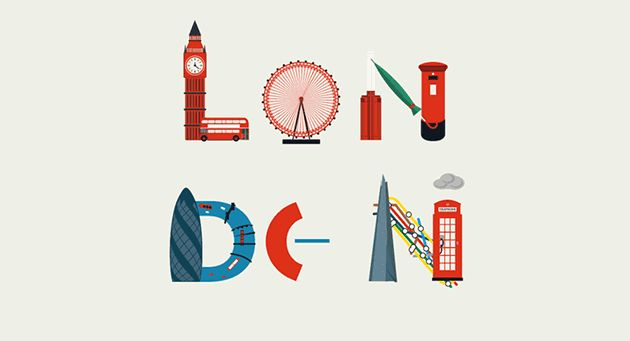 Here is the London city guide. the animation was created by Uk motion designer Al Boardman for Kaplan International.