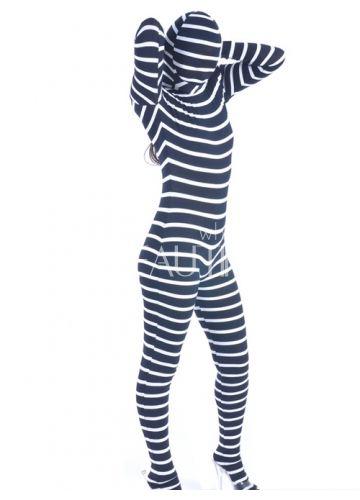 $185.99 Zebra Lycra #Zentai #Suit