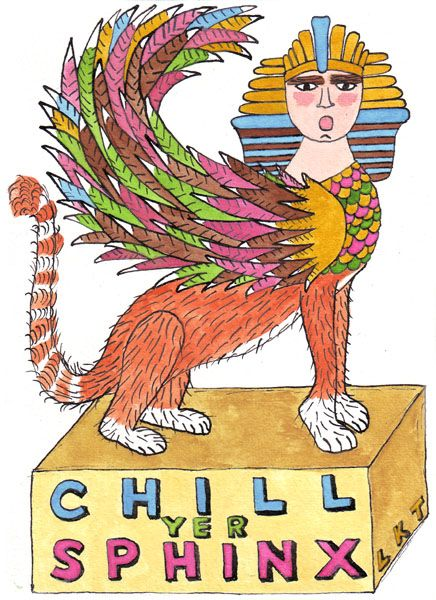 #Picaweek3 Chill Yer Sphinx