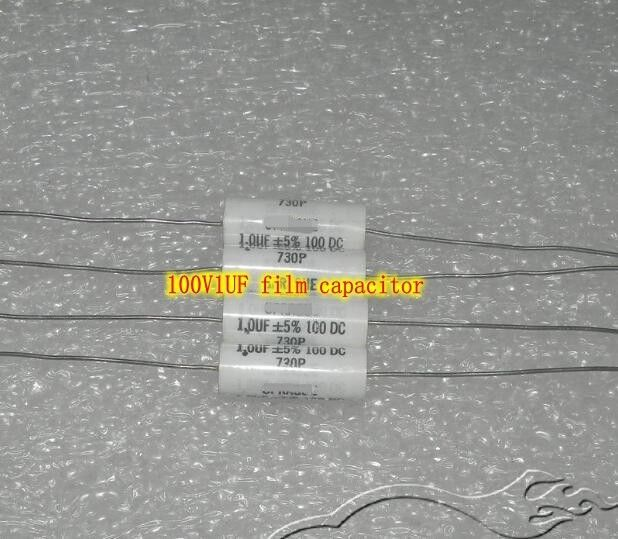100V1UF 105K Coupling film capacitor audio crossover Capacitors copper foot