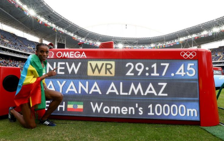 JUEGOS OLÍMPICOS RÍO 2016:  ETIOPE ALMAZ AYANA GANA MEDALLA DE ORO EN LOS 10000M…