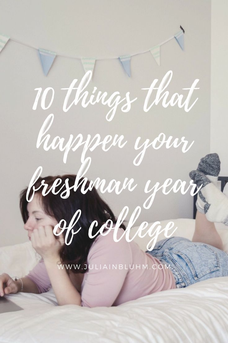 Here comes some more college freshman advice... 10 things that happen your freshman year of college. Advice for your first weeks of college.