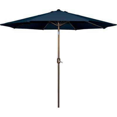 Mercury Row Cornelius 9' Market Umbrella Fabric: Navy