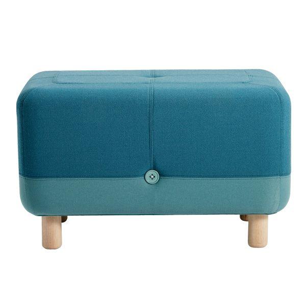 Sumo pouf, turquoise