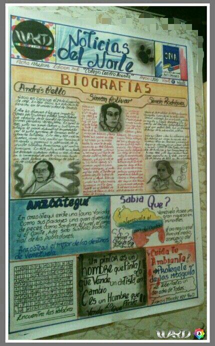 Noticias . periodico mural