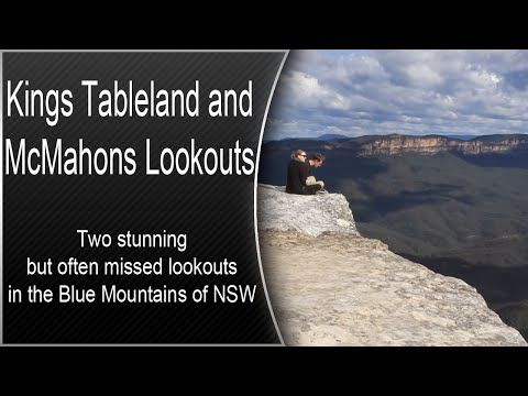 Kings Tableland and McMahons Lookouts - Blue Mountains, NSW - YouTube