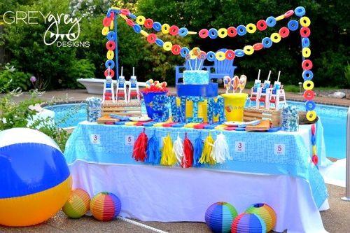 convites festa na piscina - Pesquisa Google