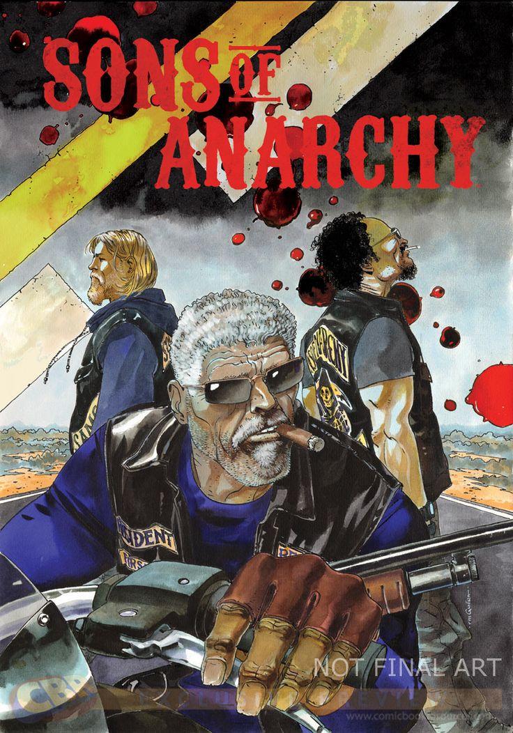 soa comics | Mini-série en comics pour Sons of Anarchy