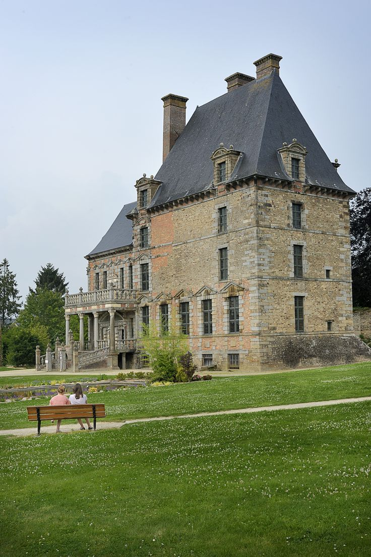 #ducey #villageetape #manche #normandie #chateau #demontgommery #chateaudesmontgommery