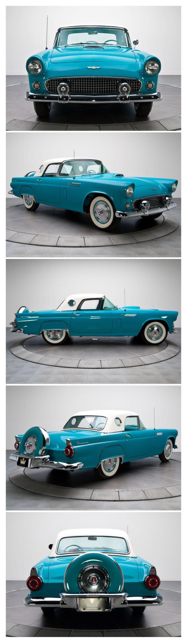 1956 chevrolet belair mjc classic cars pristine - 1956 Ford T Bird