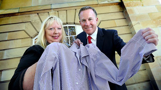 The unstoppable Dr Christina Henri is taking the shirts from politician's backs to make her bonnets.
