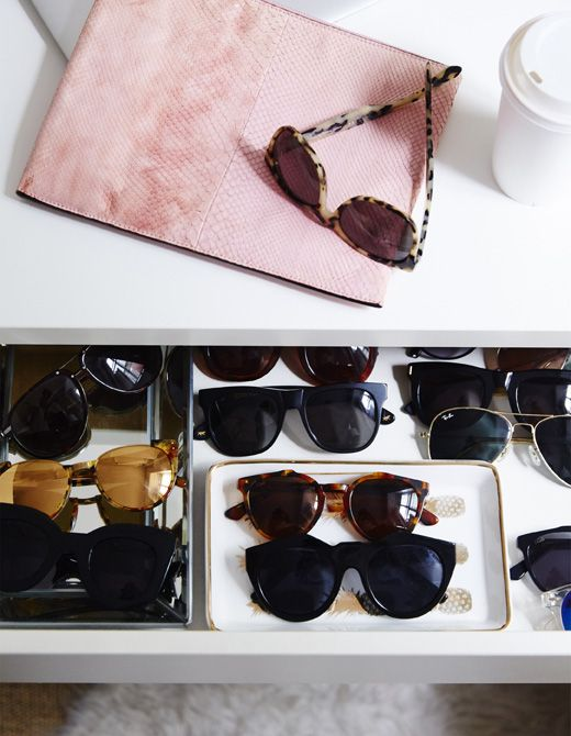 Add small trays and inserts inside drawers to customise and organise your storage space | #IKEAIDEAS