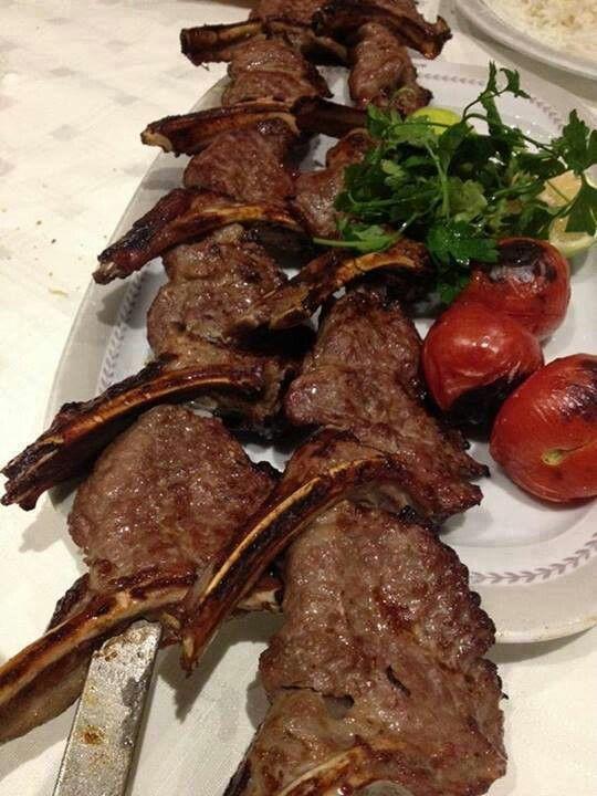 shishlik kebab .... now this reminds me of my childhood :-)