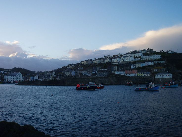 Mevagissey harbour at dusk - Mevagissey - Wikipedia, the free encyclopedia