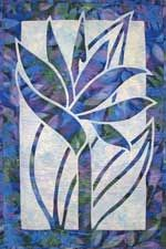 Bird of Paradise applique quilt pattern
