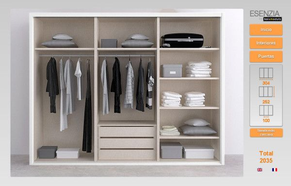 63 best dise os destacados images on pinterest cabinets for Configurador armarios ikea