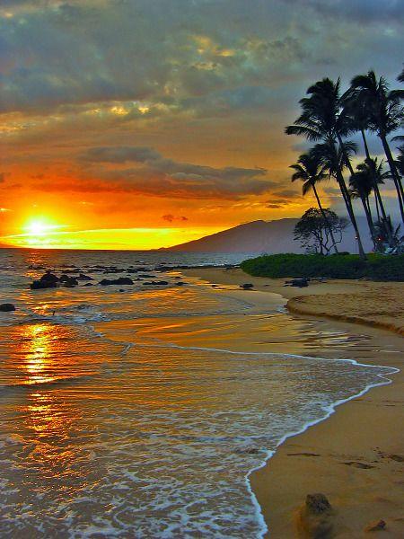 The paradisiac island of Maui, Hawaii