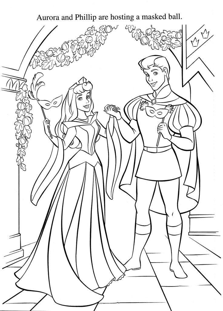 Prince Philip and Princess Aurora