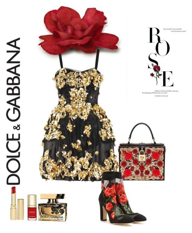 """#Sahelsets"" by sahelposhtibani on Polyvore featuring Dolce&Gabbana"